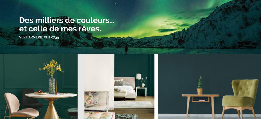 chromatic vert armerie - tendances couleurs 2019