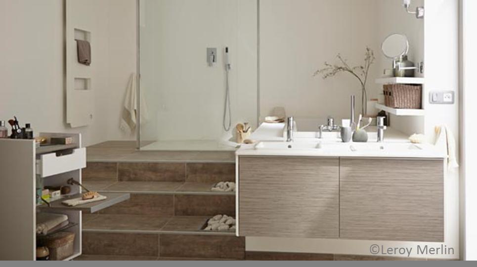 estrade salle de bains