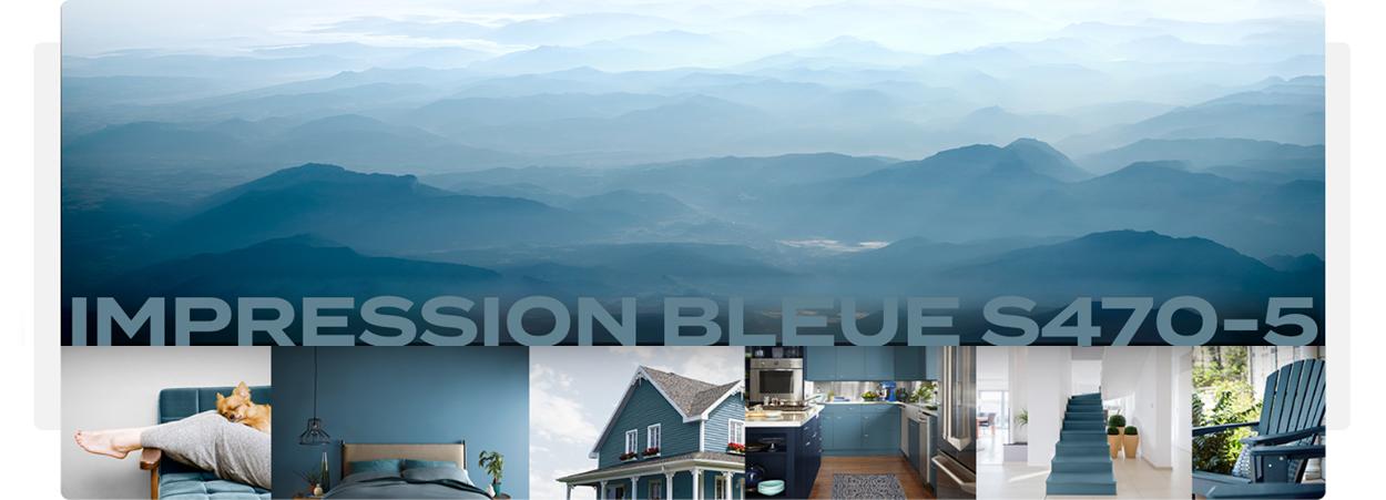 behr impression bleue - tendances couleurs 2019