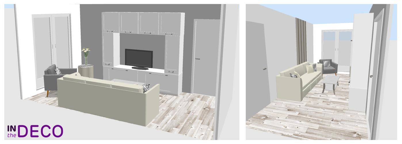 salon 12m² 3D