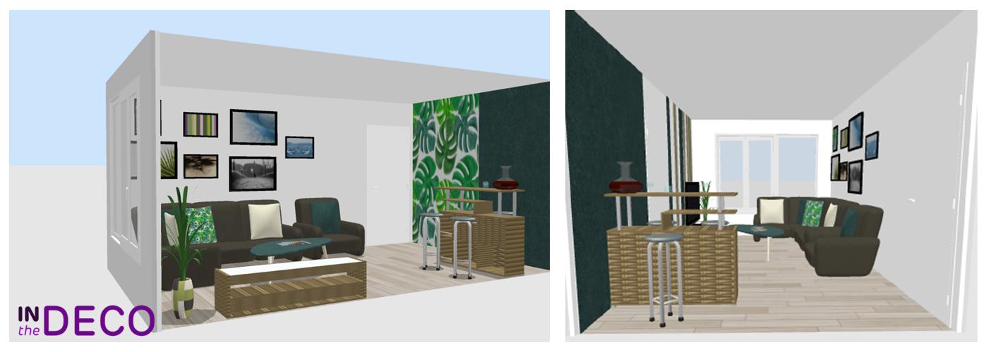 salon 15m² 3D