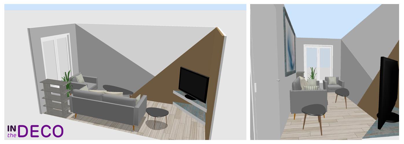 salon 9m² 3D